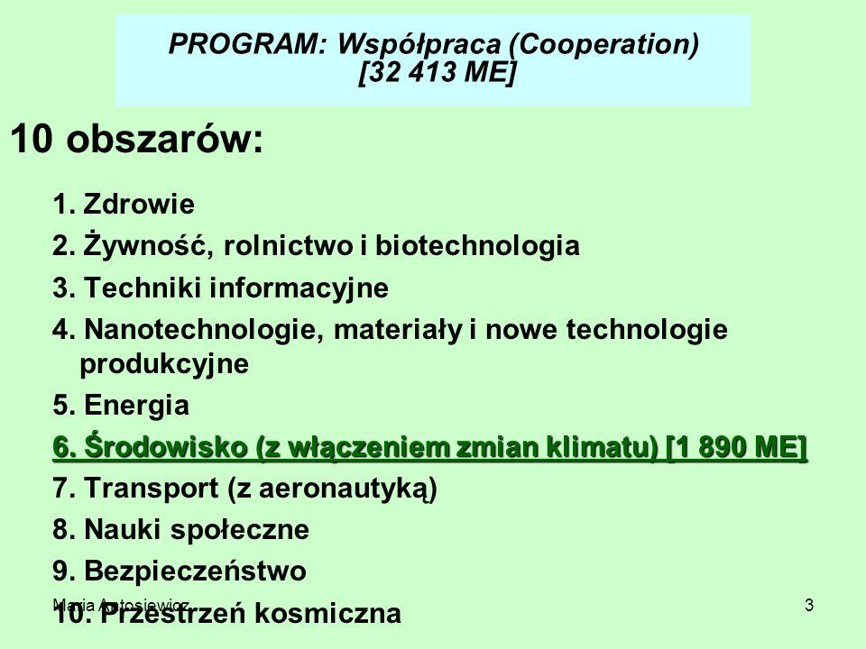 PROGRAM: Współpraca (Cooperation) [32 413 ME]